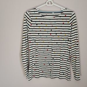 LIKE NEW LONG SLEEVE BODEN TOP Size 6